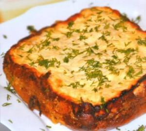 Картофельная запеканка - малокалорийное блюдо